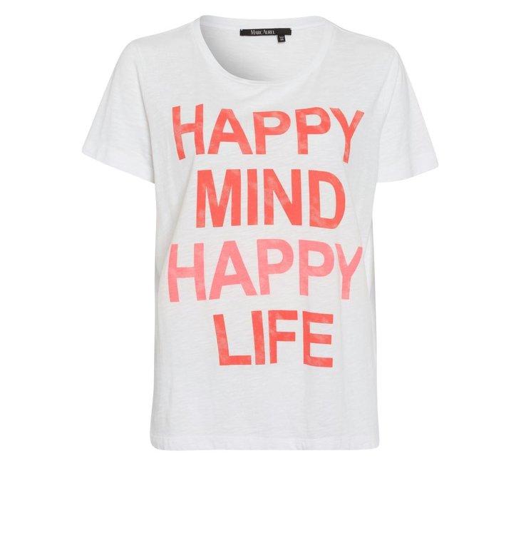 Marc Aurel Marc Aurel White T-shirt 7998-7000-73183