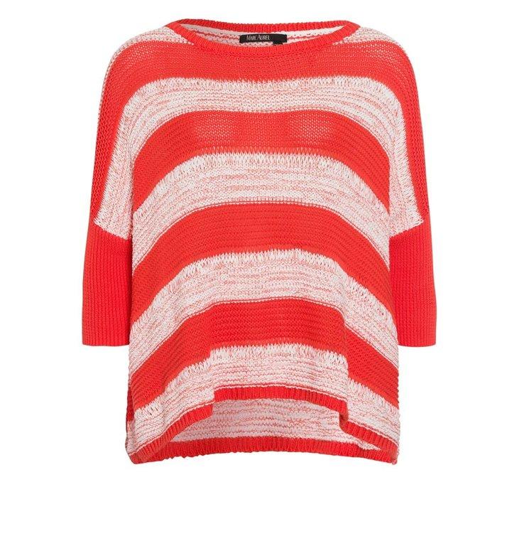 Marc Aurel Marc Aurel Red Stripe Knit 8480-8000-81910