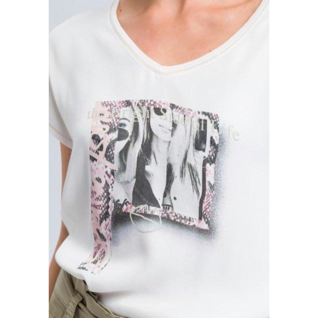 Marc Aurel White T-shirt 7979-7000-73169