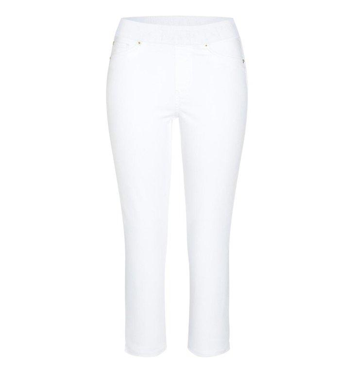 Cambio Cambio White Philia Capri Jeans 9048-0005-02