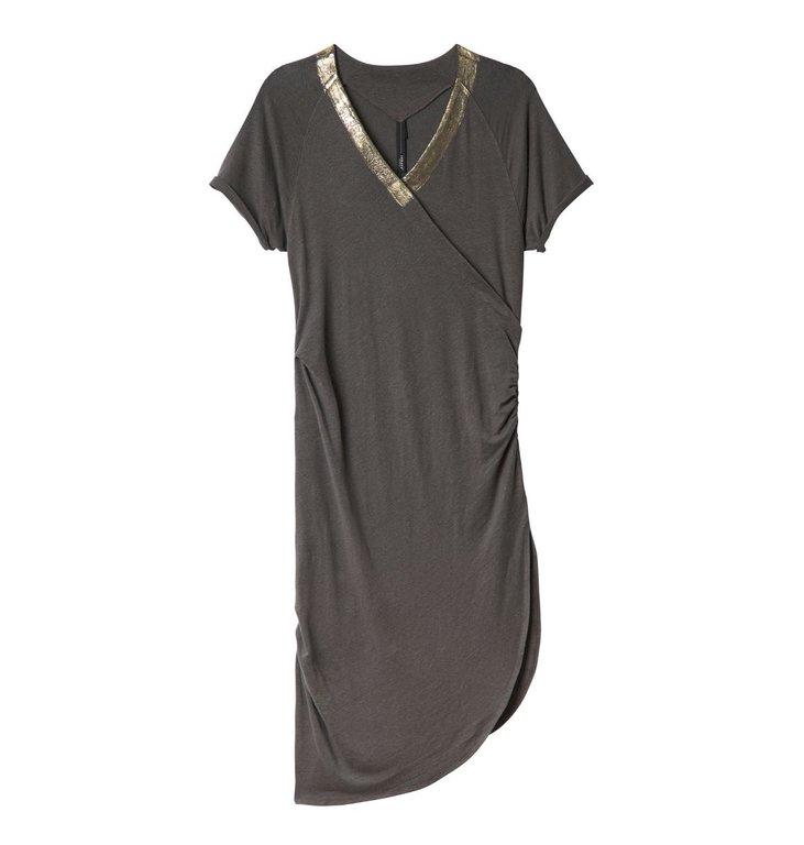 10Days 10Days Brown Greek Dress Gold 20.302.0201/3