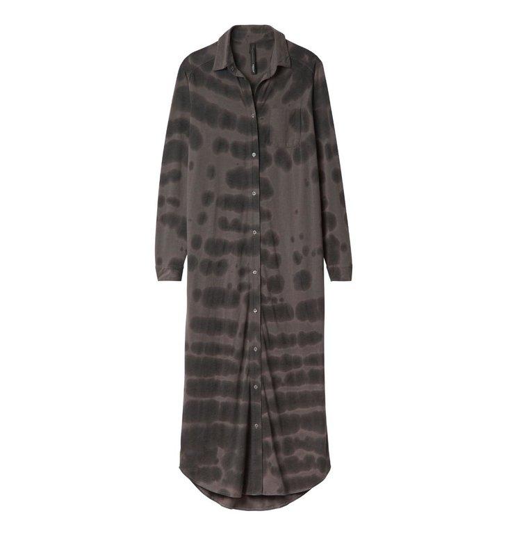 10Days 10Days Brown Long Shirt Dress Batik 20.415.0201/3