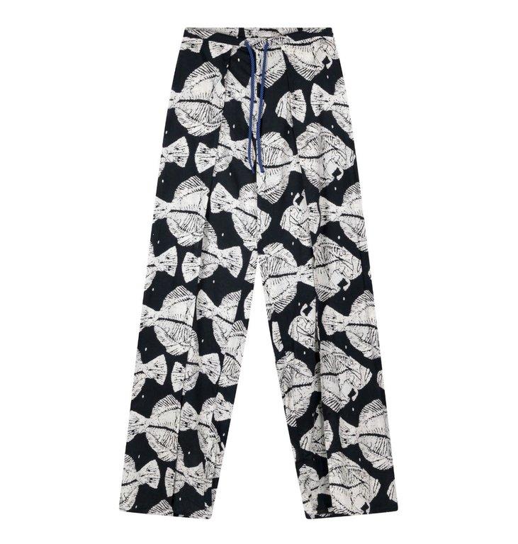 10Days 10Days Dark Grey Blue Beach Pants Piranha 20.008.0202