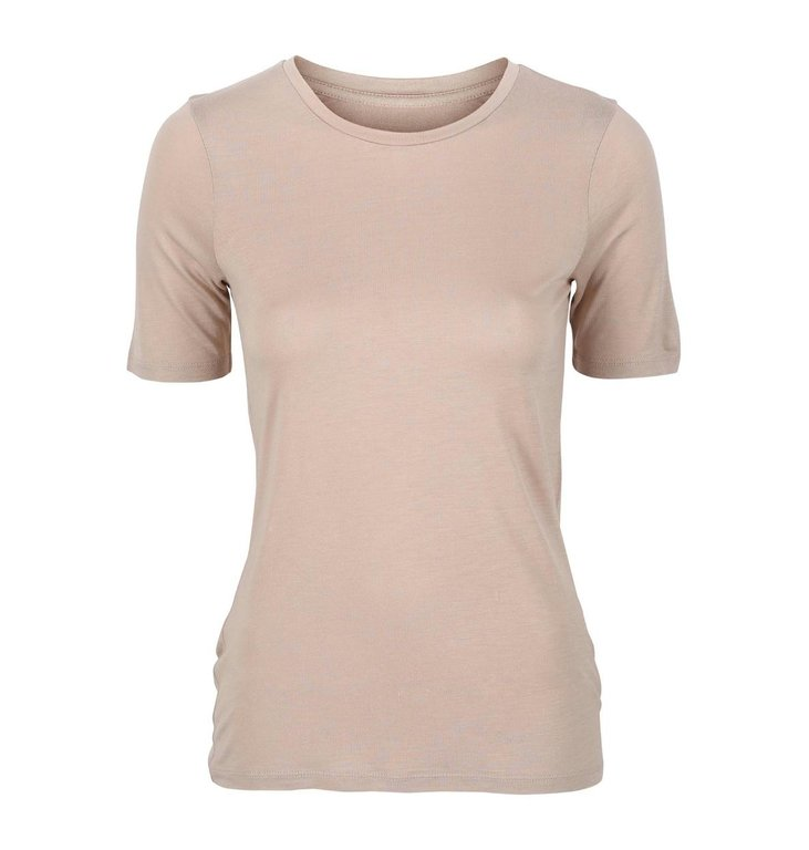 One & Other One & Other Beige T-shirt Calio