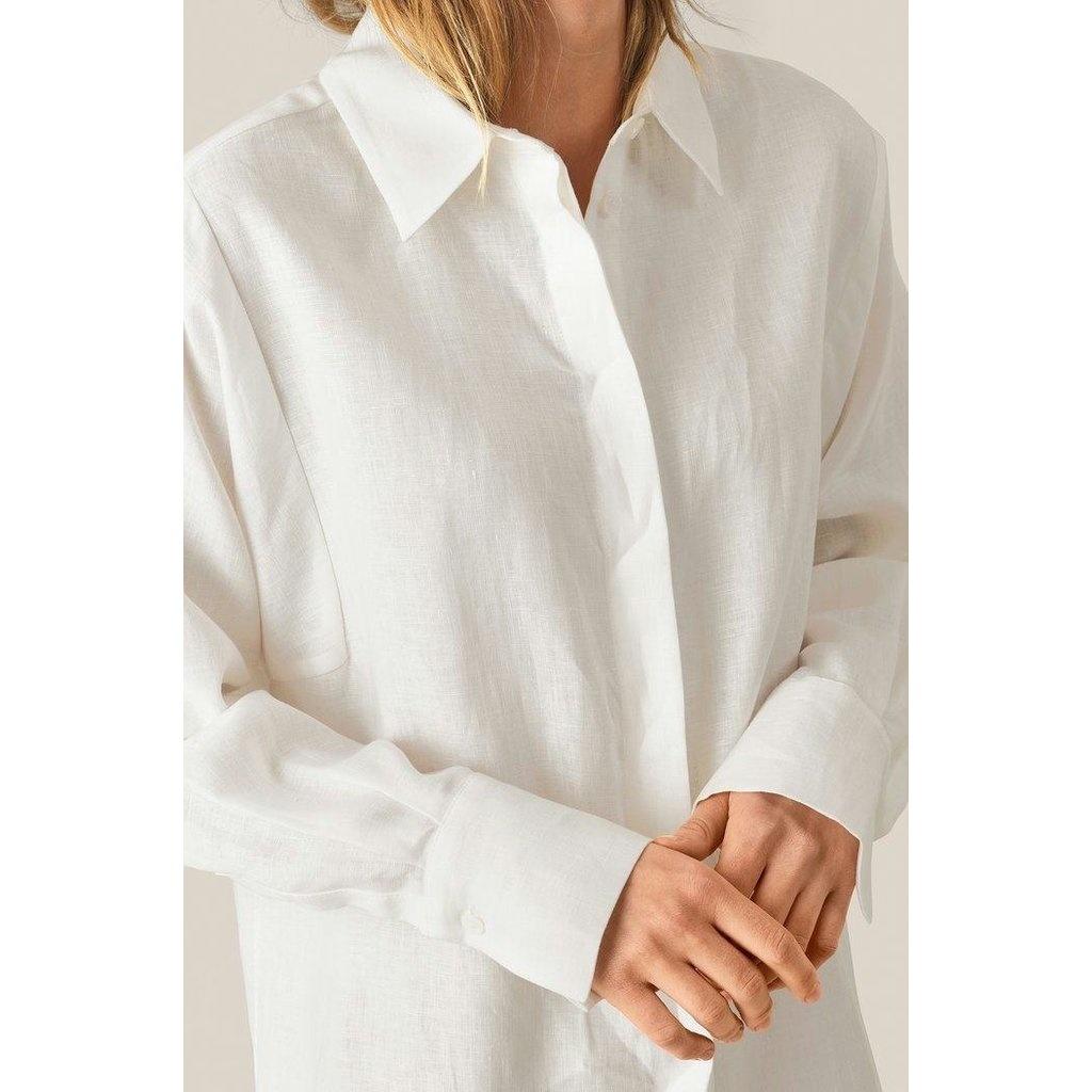 second female linnen blouse