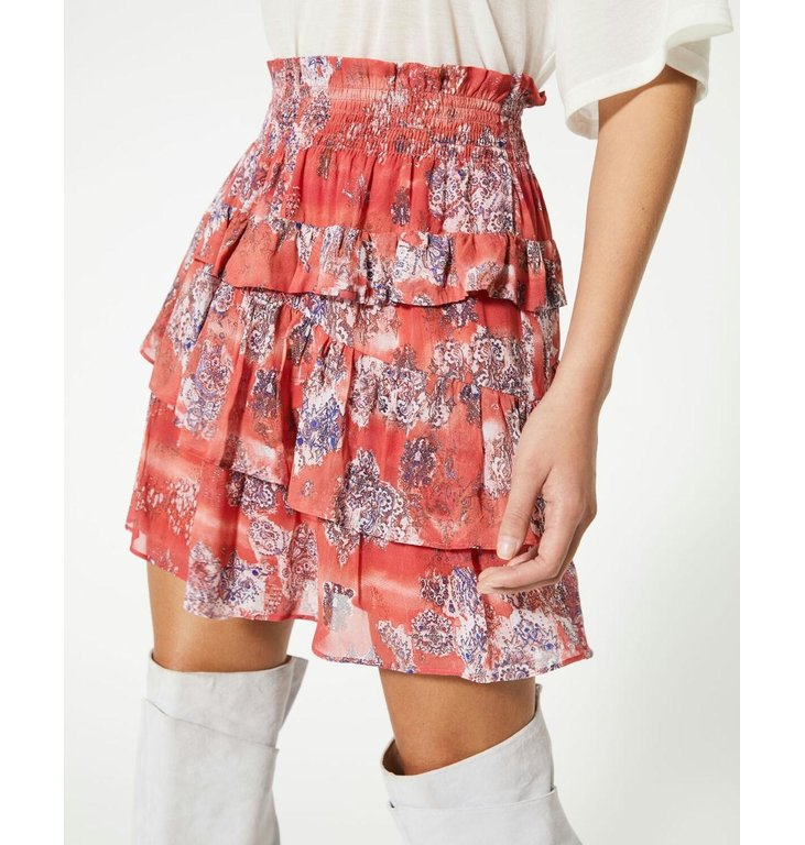 IRO IRO Red Skirt Herty