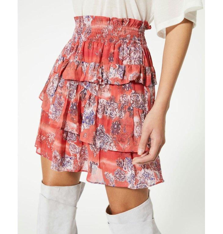 IRO IRO Red Skirt Herty