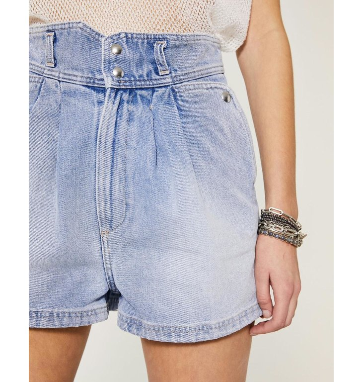 IRO IRO Denim Blue Short Laconi
