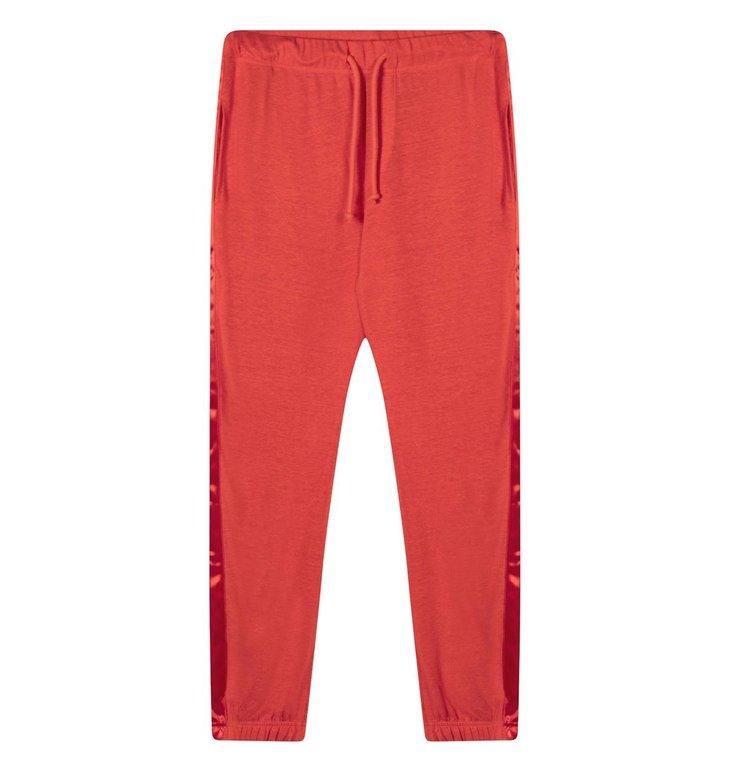 10Days 10Days Fluor Red Jogger Linen 20.041.0205