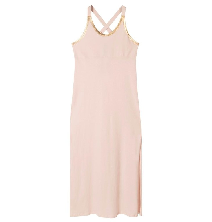 10Days 10Days Soft Dirty Pink Wrapper Dress 20.303.0205