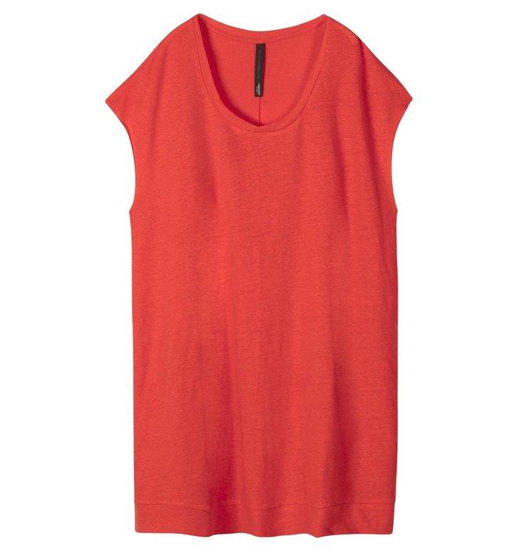 10Days 10Days Fluor Red Tunic Linen 20.354.0205