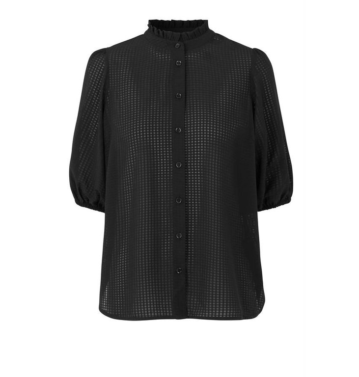 Second Female Second Female Black Tara SS Blouse 53367