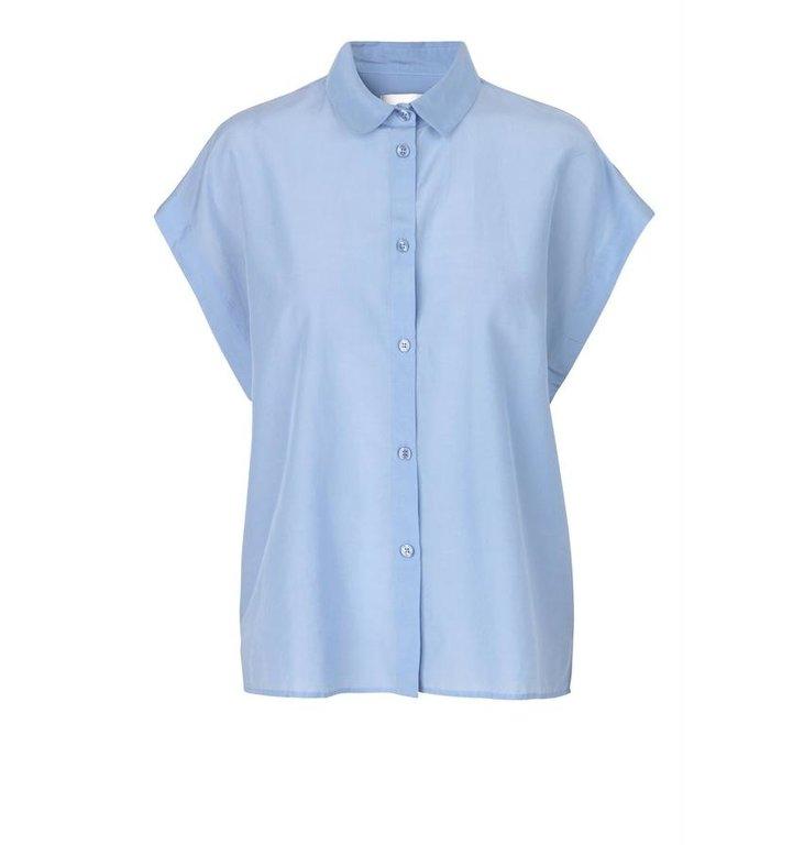 Second Female Second Female Blue Auso Shirt 53322