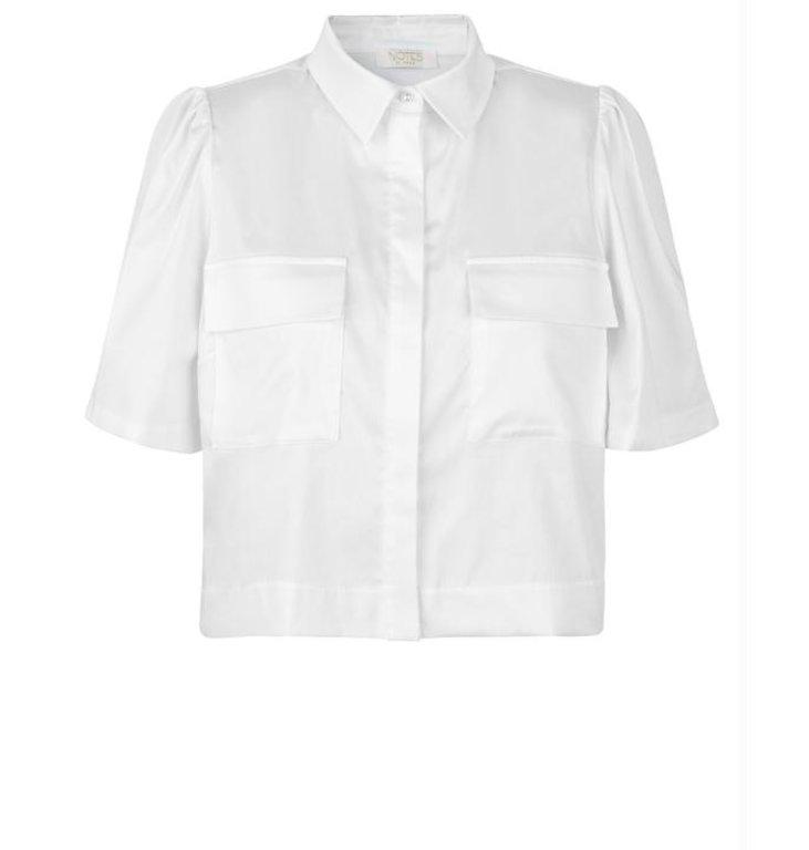 Notes du Nord Notes du Nord White Pollie Shirt 11704