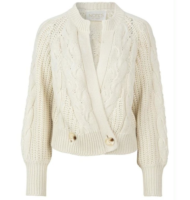 Notes du Nord Notes du Nord Off White Phillipa Cardigan 11798