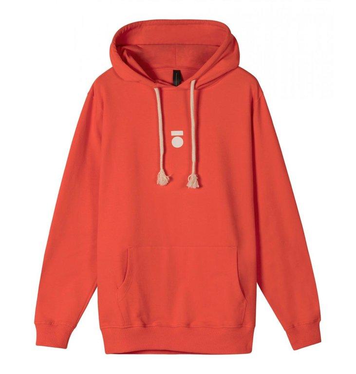 10Days 10Days Fluor Red Hoodie 20.850.0205