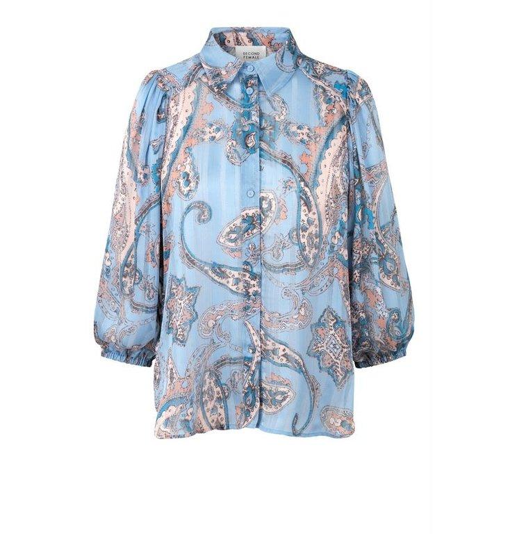 Second Female Second Female Blue Adelina Shirt 53528