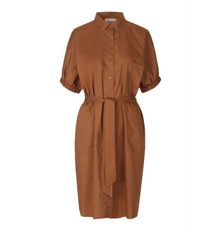 Second Female Second Female Brown Carrie Shirt Dress 53369