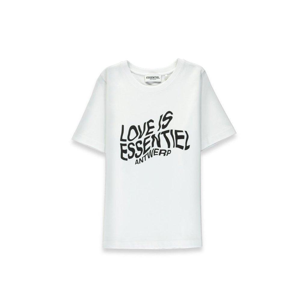 Essentiel Antwerp White T-shirt Weez