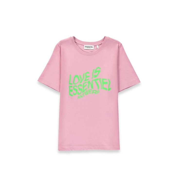 Essentiel Antwerp Essentiel Antwerp Pink T-shirt Weez