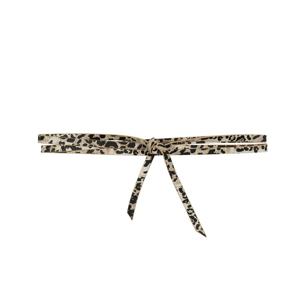 10Days Leopard Long Belt Leopard 20-945-0203