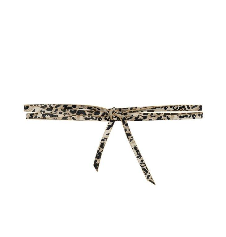 10Days 10Days Leopard Long Belt Leopard 20-945-0203