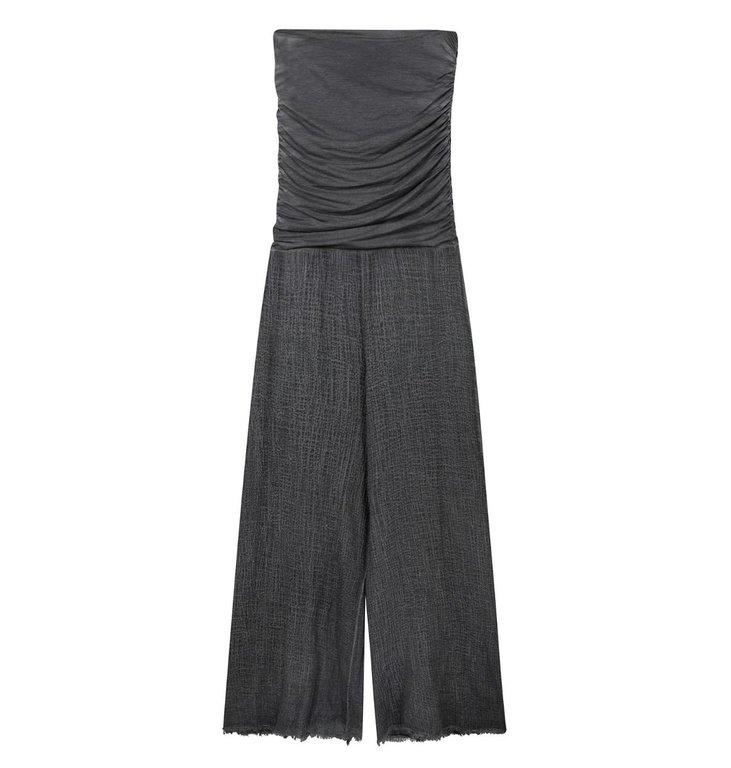 10Days 10Days Grey Jumpsuit Gauze 20-084-0203