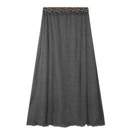 10Days 10Days Grey Skirt Gauze 20-104-0203
