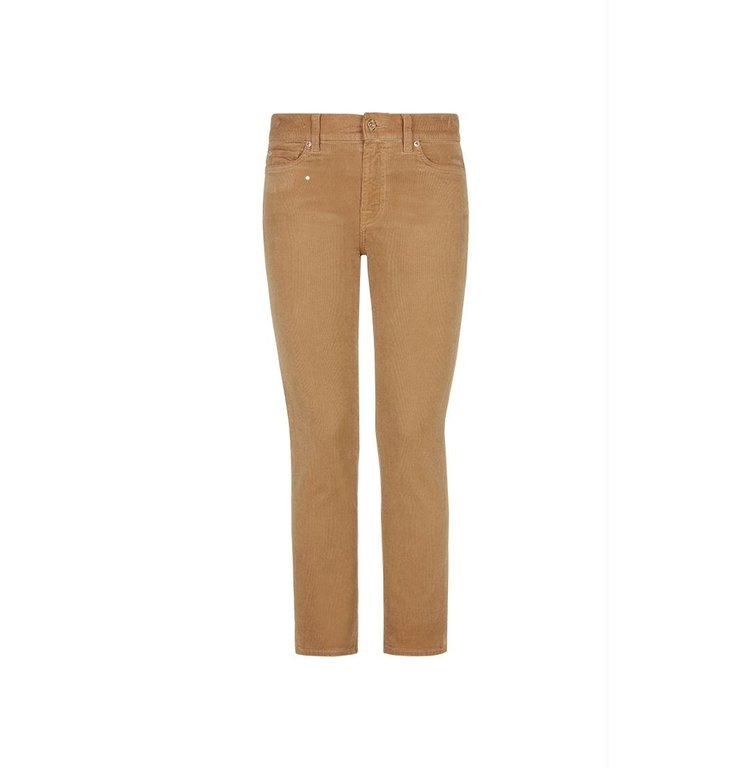 7 For All Mankind 7 For All Mankind Camel Roxanne Corduroy Ankle Jeans JSVYV640