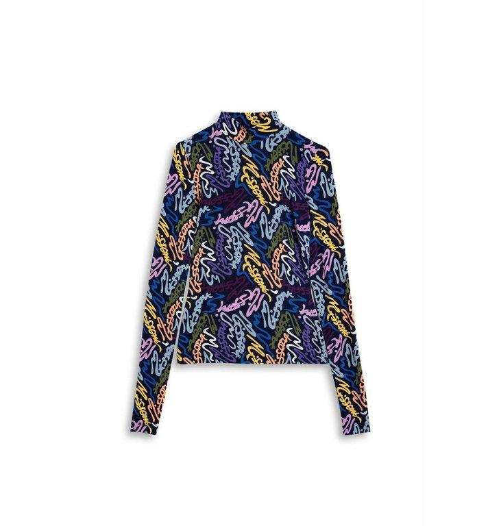 Missoni Missoni Navy/multicolour Shirt 2DL00048-2J003N