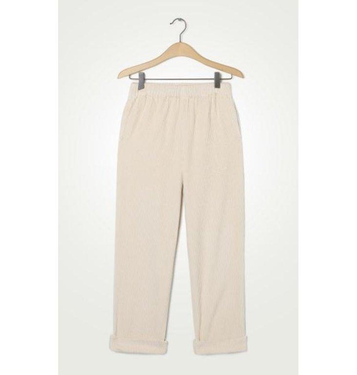 American Vintage American Vintage Ecru Pantalon PADO137