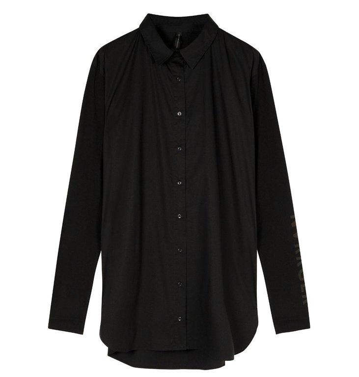 10Days 10Days Black Oversized Shirt 20.400.0201/1