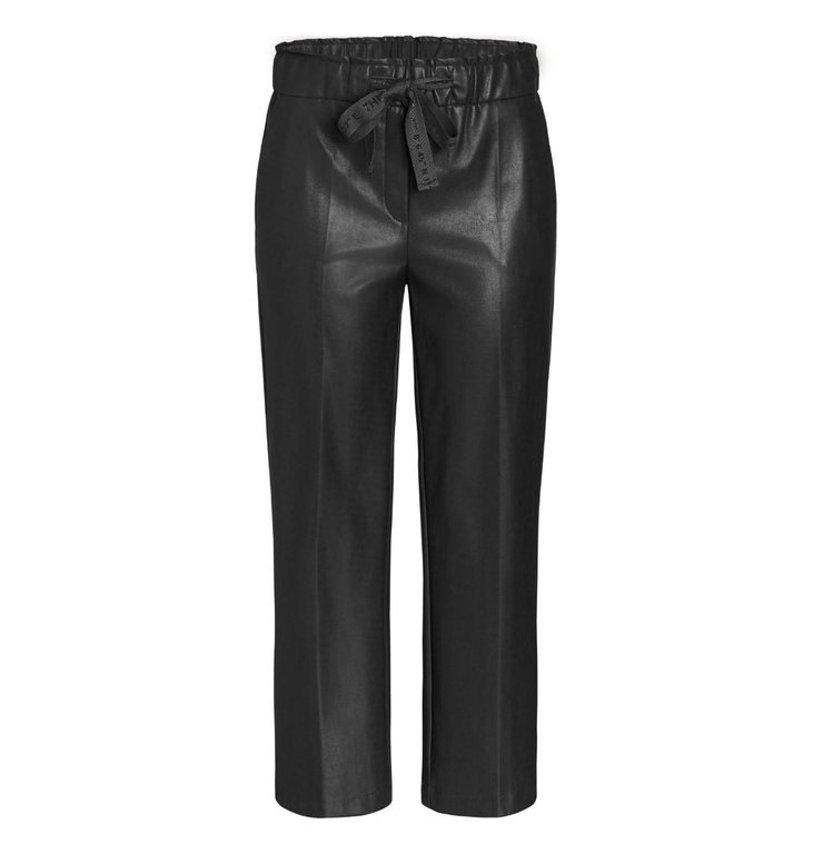 Cambio Cambio Black Colette Faux Leather Pants 6305-0229-03