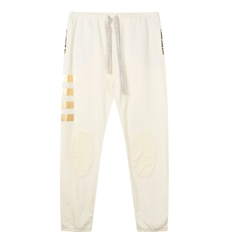 10Days 10Days Winter White Oversized Jogger Patches 20-019-0203