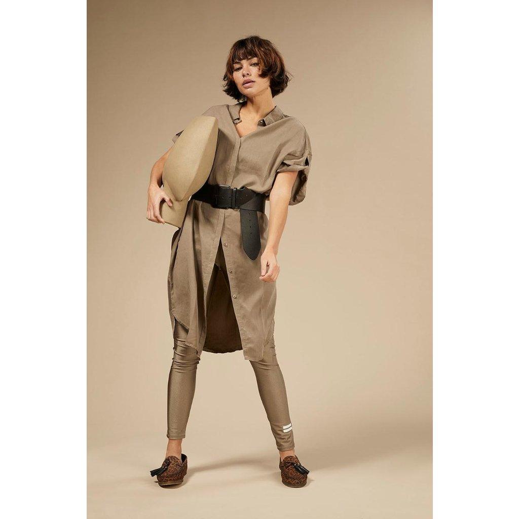 10Days Dark Safari Shirt Dress 20-411-0203