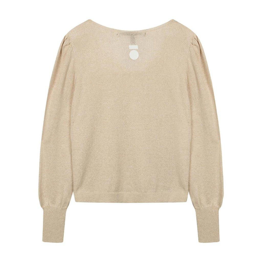 10Days Gold Sweater Lurex 20-604-0203