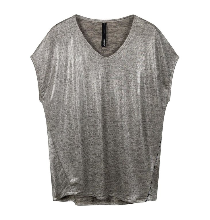 10Days 10Days Silver The Foil Tee 20-745-0203
