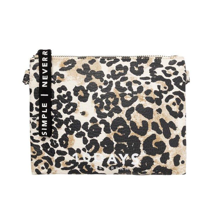 10Days 10Days Winter White Make-up Bag Leopard 20-958-0203