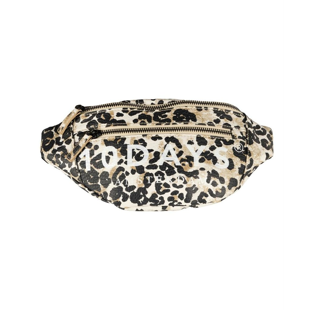 10Days Winter White Fanny Pack Leopard 20-959-0203