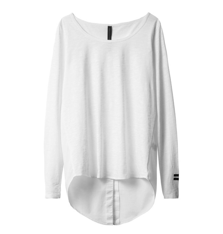10Days 10Days White Smoking Shirt 20-770-0203