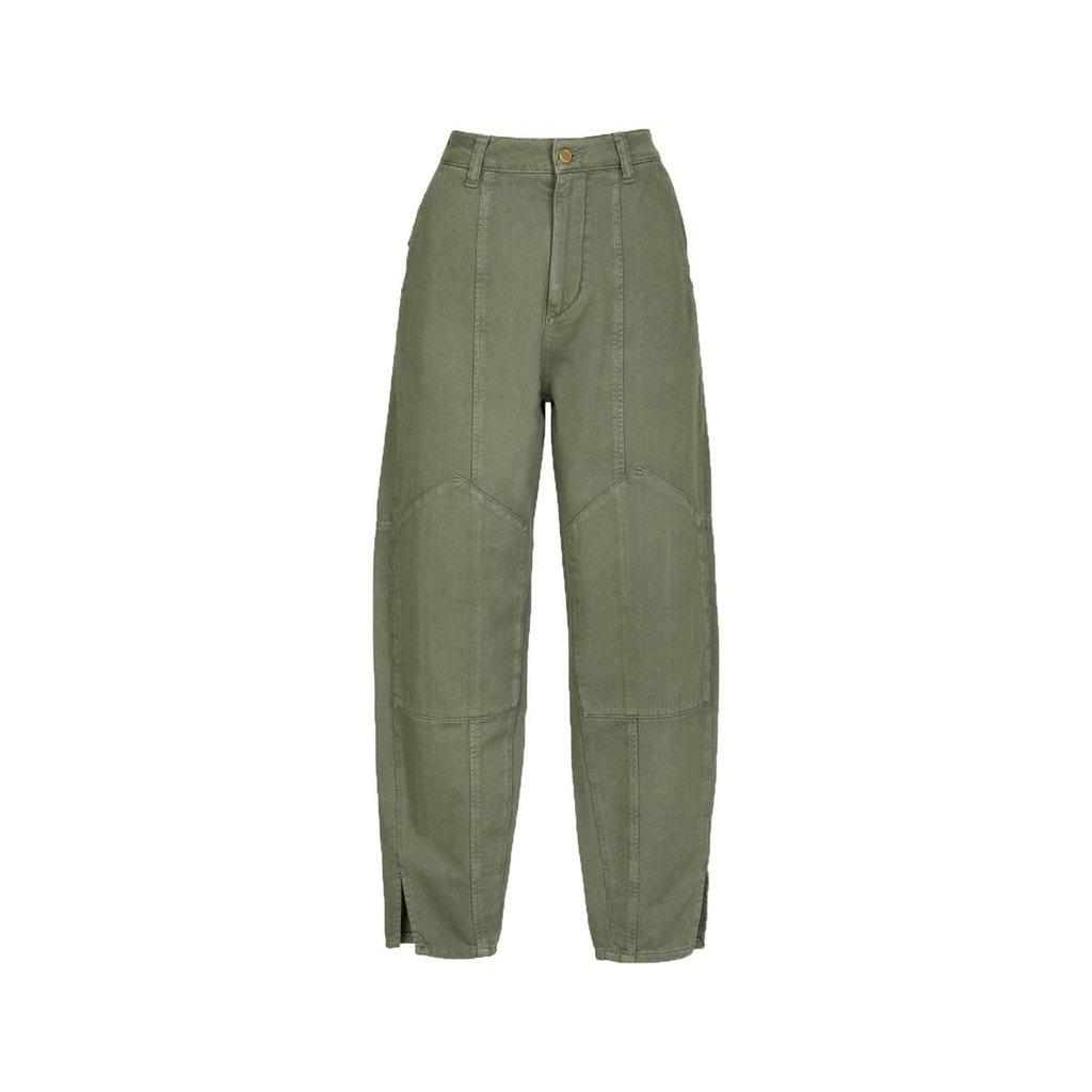 Essentiel Antwerp Kaki Cargo Pants Way