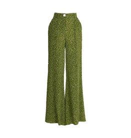 Essentiel Antwerp Essentiel Antwerp Green Flared Pants Waima