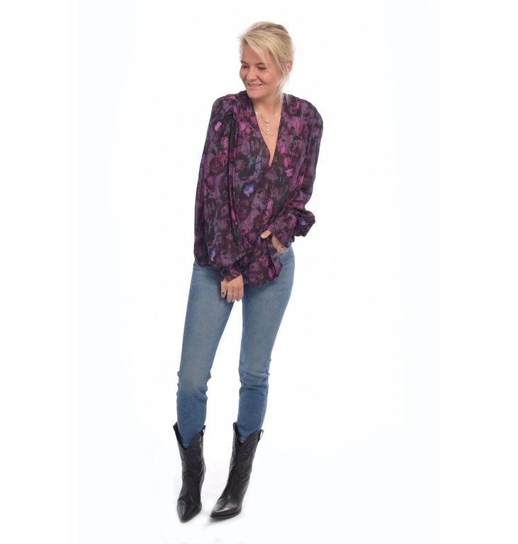 IRO IRO Purple Blouse Hush