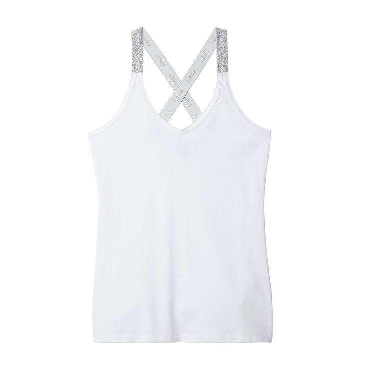 10Days 10Days White THE WRAPPER LUREX LOGO 21.705.9900
