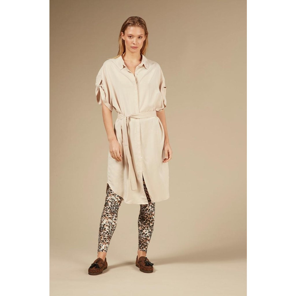 10Days Light Safari Shirt Dress 20-411-0203