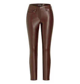 Cambio Cambio Brown Ray Faux Leather Pants 6301-0268-01