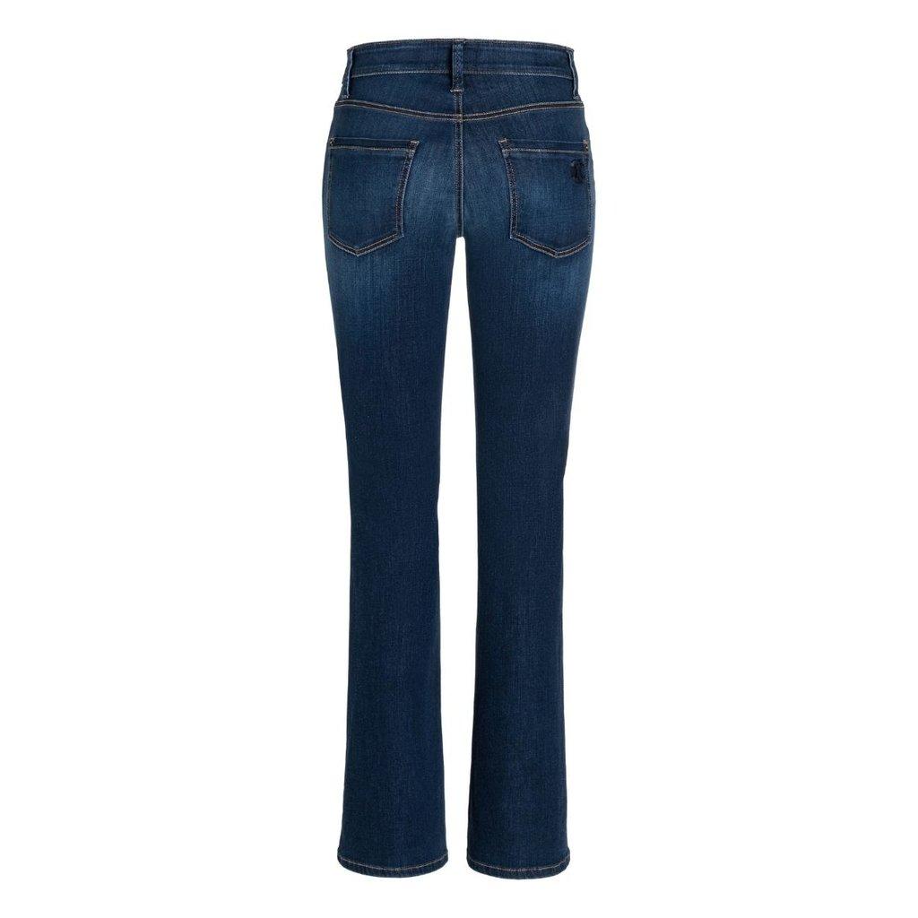 Cambio Denim Blue Parla Flair Jeans 9164-0047-08