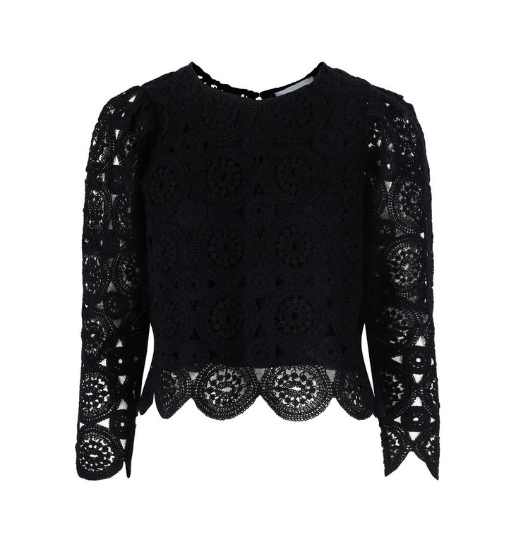 One & Other One & Other Black Top Astrid