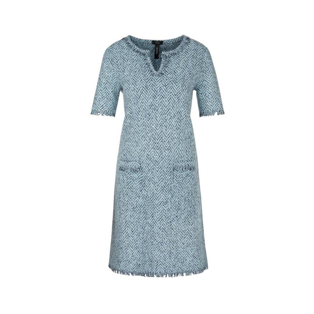 Marc Cain Blue Dress PC2108-M13