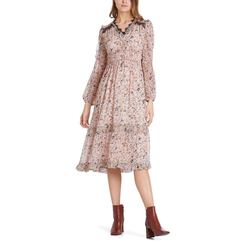 Marc Cain Pink/Multi Colour Dress PC2123-W21
